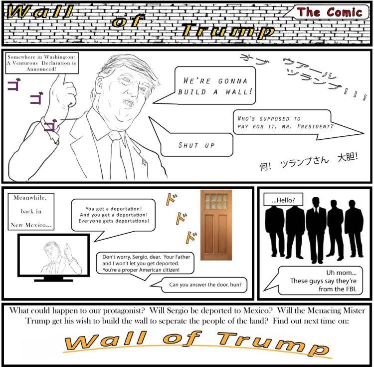 wall of trump comic