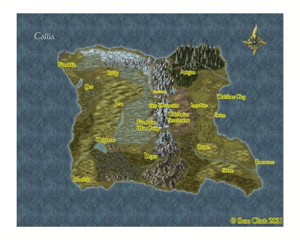 Map of Callia